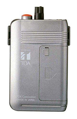 [해외]TOA 300MHz 대역 무선 안내 | PA 시스템 휴대용 수신기 (2 채널 형) WT-1101-C11C13/TOA 300 MHz band Wireless Guide | PA System Portable Receiver (2 Channel Type) WT - 1101 - C 11 C 13