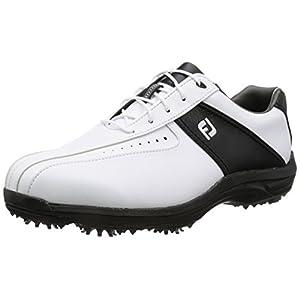 [フットジョイ] ゴルフシューズ 45303J WT/BK ホワイト/ブラック2017モデル 9 WIDE(27cm)
