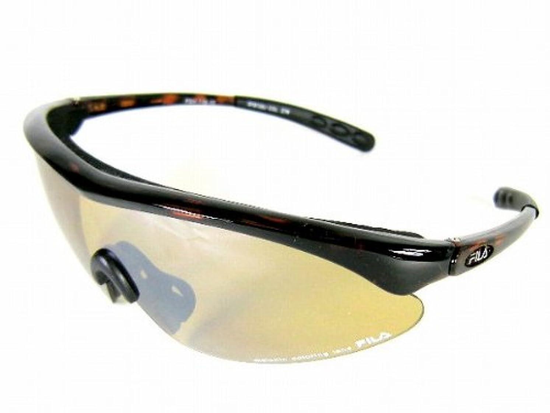 本質的にロケーション保存FILA(フィラ) メンズ サングラス スポーツ テニス ゴルフ ジョギング スキー スノボ JAPAN FIT MODEL ジャパン フィット モデル FSH110-10