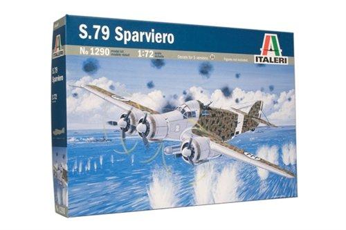 タミヤ イタレリ 1/72 飛行機シリーズ 1290 サボイア・マルケッティ SM79 スパルビエロ 38090