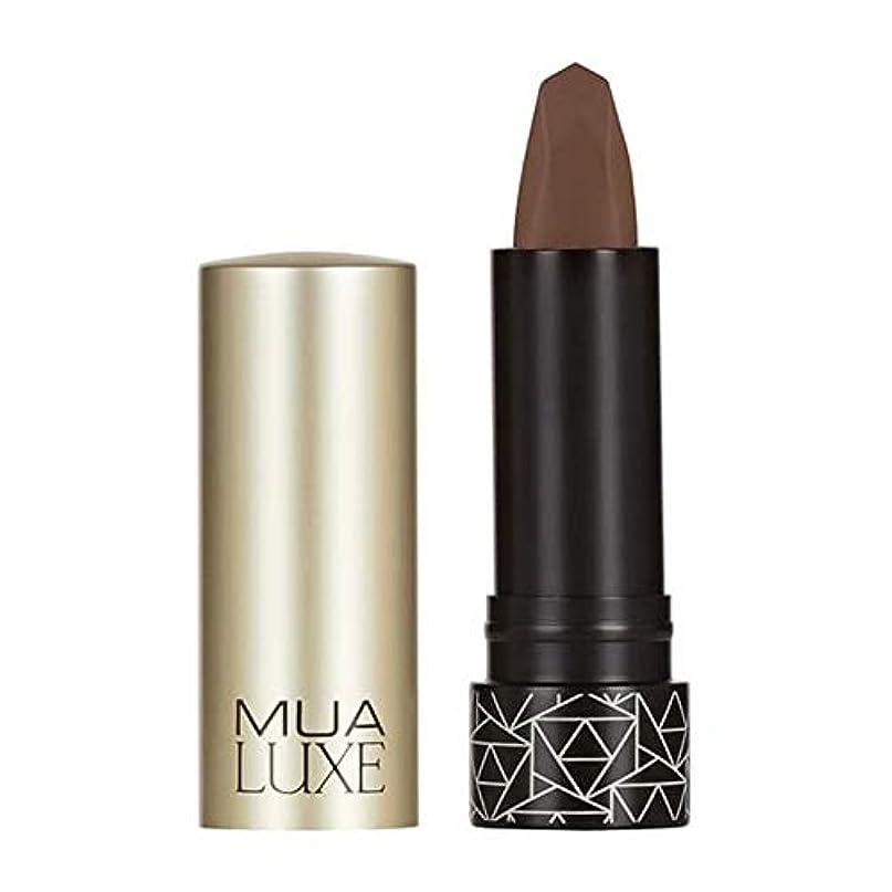 どのくらいの頻度で偽善者格納[MUA] Muaラックスベルベットマットリップスティック#2 - MUA Luxe Velvet Matte Lipstick #2 [並行輸入品]