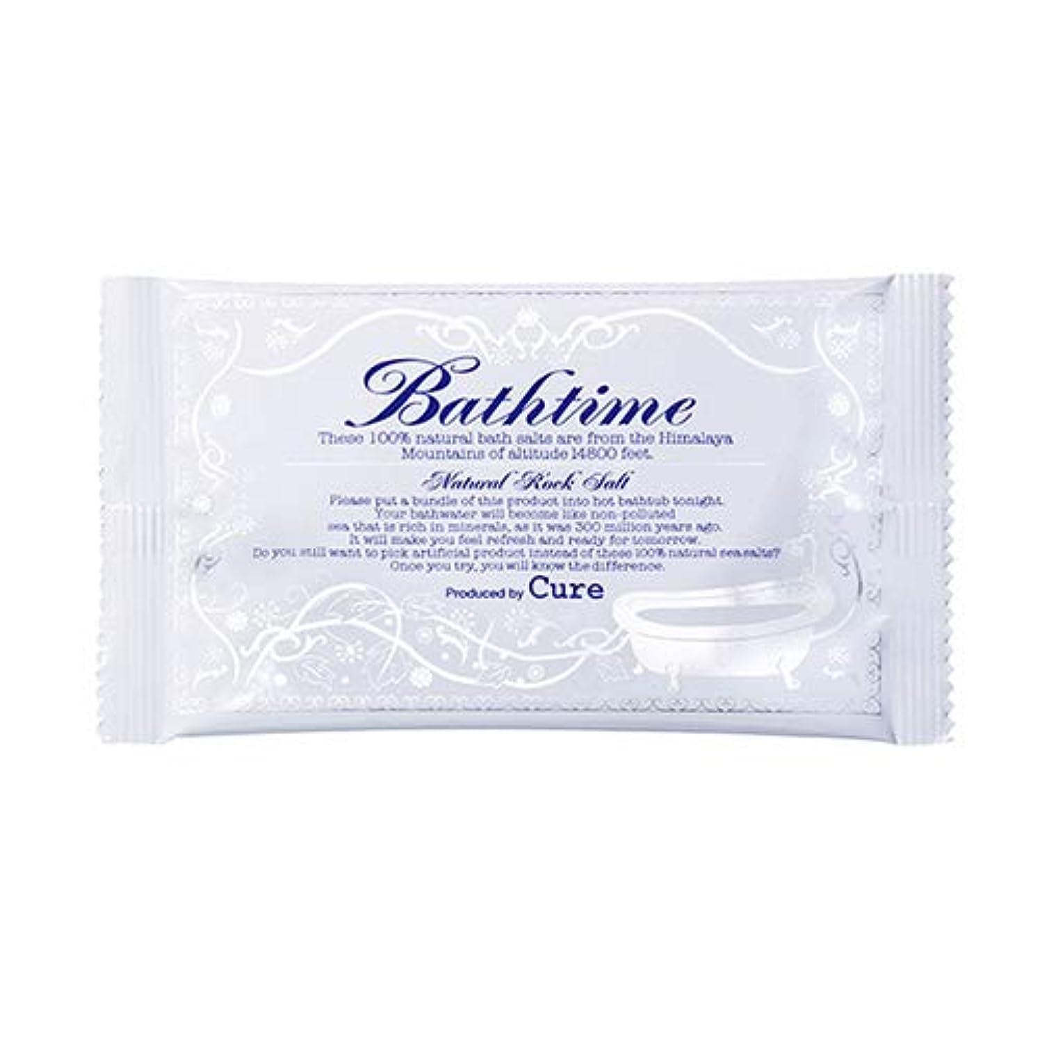 測定可能伝導率小道具バスタイム (20g) Cure 温浴系バスソルト 入浴剤