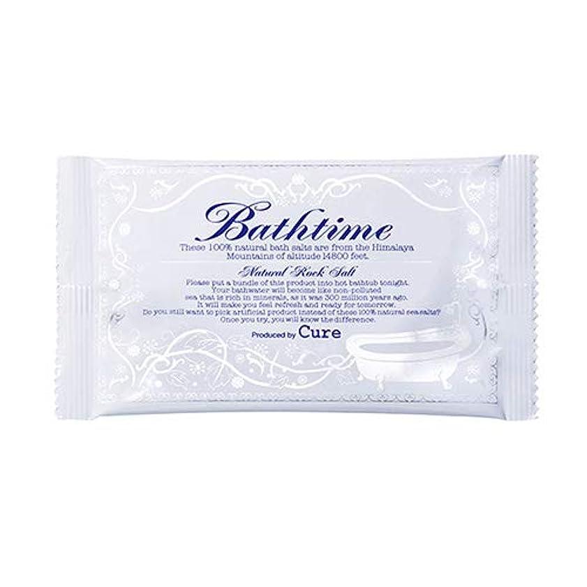 十代気をつけてバックグラウンドバスタイム (20g) Cure 温浴系バスソルト 入浴剤