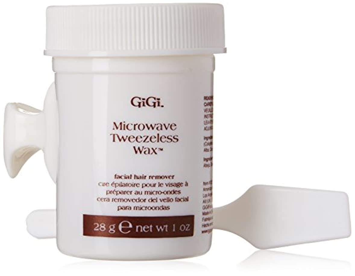 件名大破単調なGiGi Tweezeless Wax Microwave Formula 1 oz. (並行輸入品)