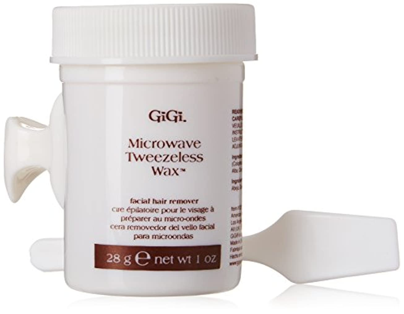行進成功した業界GiGi Tweezeless Wax Microwave Formula 1 oz. (並行輸入品)