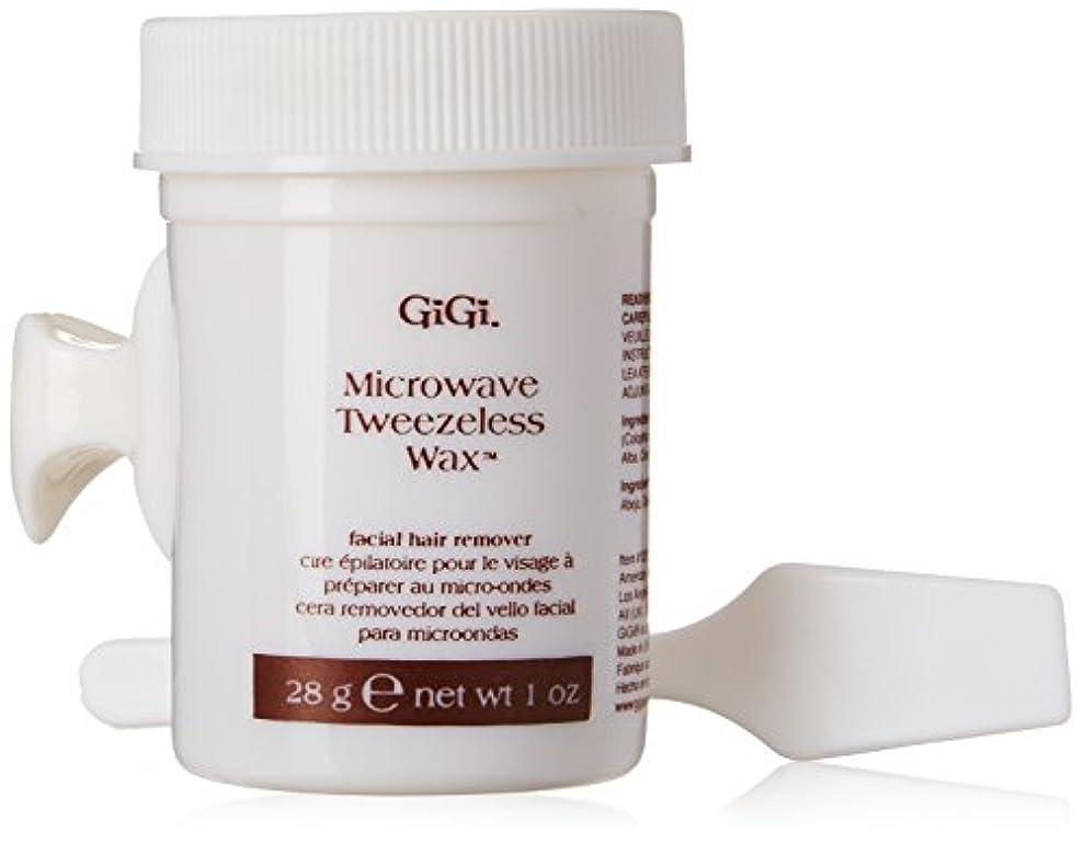 文房具地雷原反毒GiGi Tweezeless Wax Microwave Formula 1 oz. (並行輸入品)