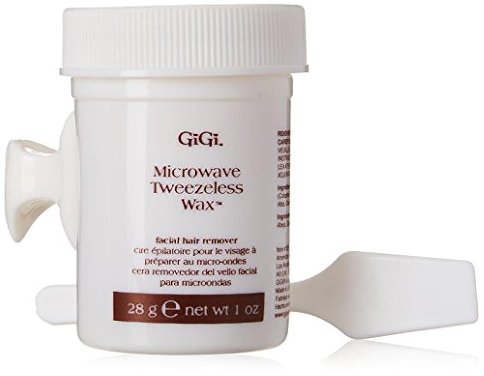 ラッカス前部避難GiGi Tweezeless Wax Microwave Formula 1 oz. (並行輸入品)