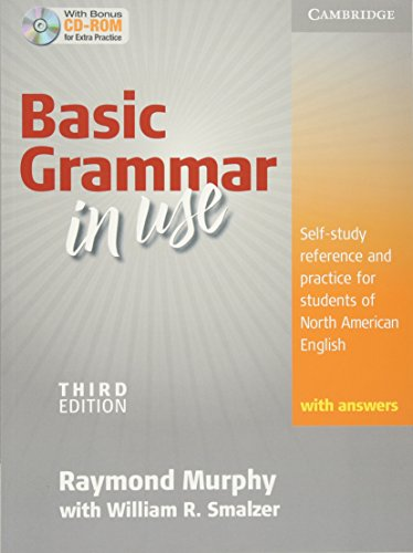Basic Grammar in Use Student's Book with Answers and CD-ROM: Self-study reference and practice for students of North American Englishの画像