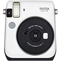 FUJIFILM インスタントカメラ チェキ instax mini70 ホワイト INS MINI 70 WHITE