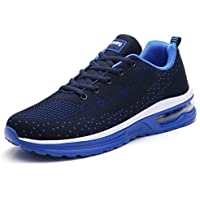 TSIODFO Men air Cushion Sport Running Tennis Walking Shoes
