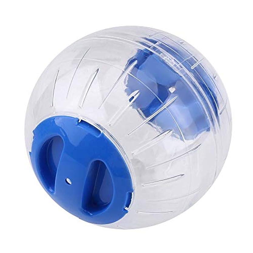 召集する格納仮称ハムスターボール、ハムスターおもちゃ、プラスチック運動ボール、ランニングボール運動ペットおもちゃをプレイするため(blue)