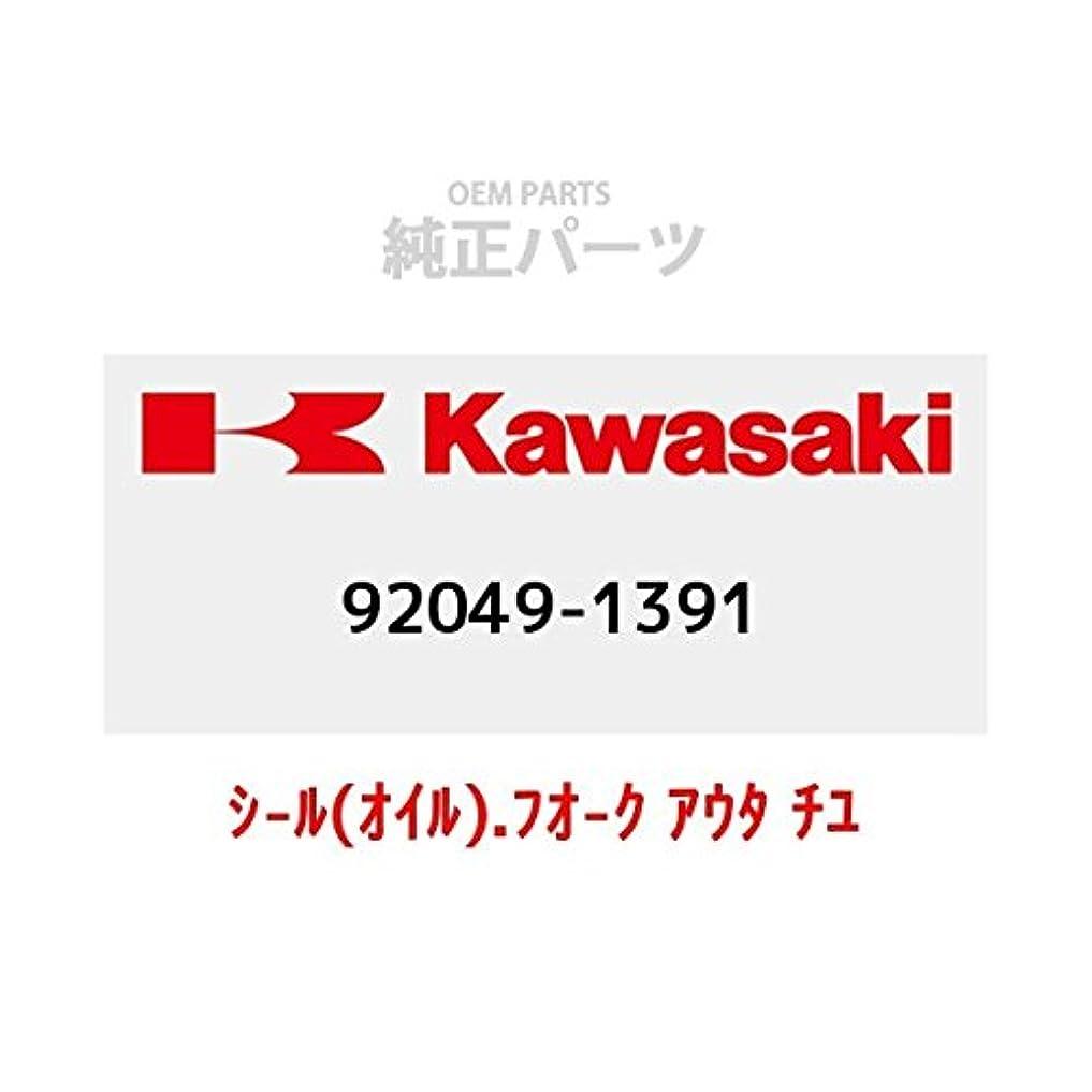 破滅的な想起バランスKAWASAKI (カワサキ) 純正部品 (OEM) シール(オイル).フォーク アウター チューブ 92049-1391