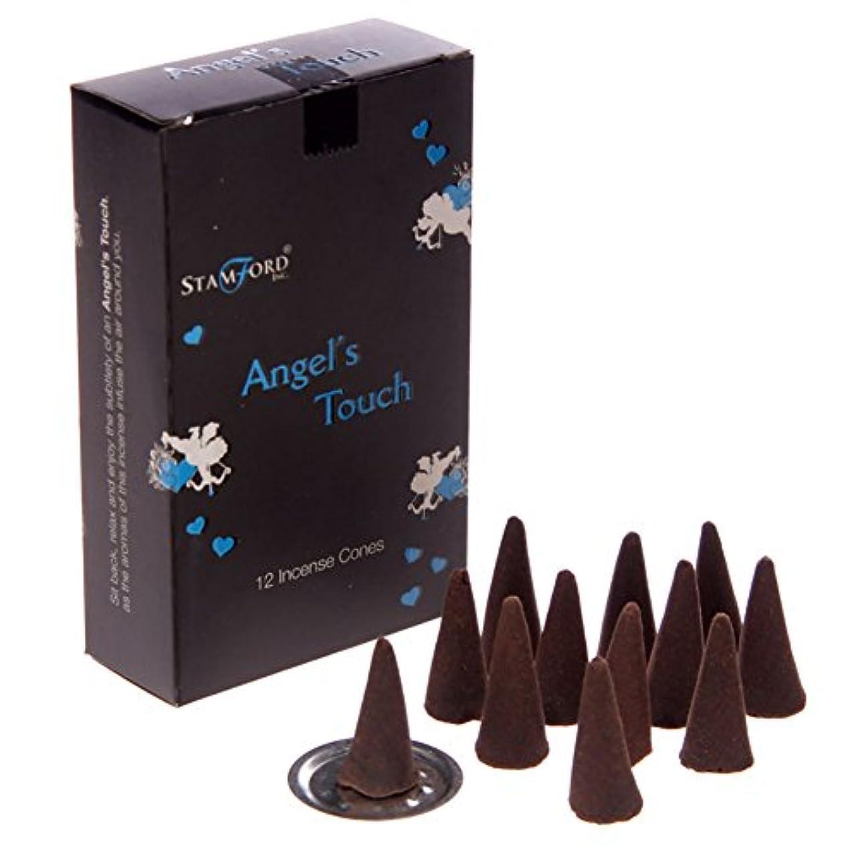 クライアント広告苦痛Stamford Black Incense Cones - Angels Touch