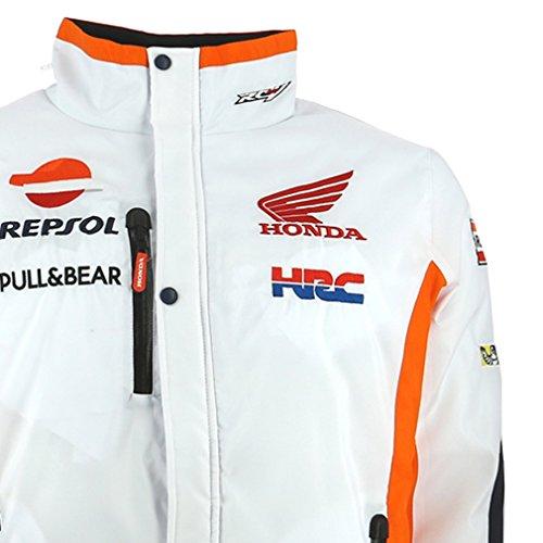 Honda Repsol Moto GP Team White Jacket Official 2017