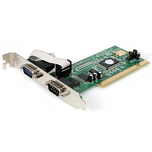 StarTech.com RS232Cシリアル2ポート増設PCIカード 16550 UART対応 PCI2S550