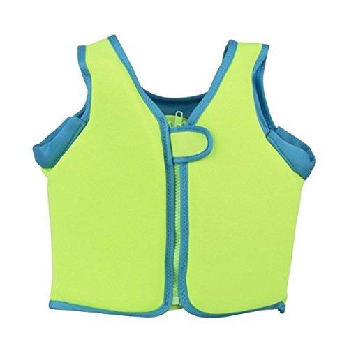 子供 ライフジャケット フローティングベスト スイムベスト 子供用 キッズ 強い浮力 安全ベスト 鮮やかなカラー 漂流 海 プール 救命胴衣 スイミング 水遊び ライフベスト(グリーン) (XL)