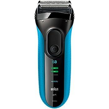 【Amazon.co.jp 限定】ブラウン メンズ電気シェーバー シリーズ3 3040s 3枚刃 水洗い/お風呂剃り可 ブルー