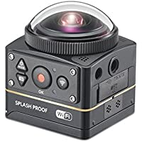 Kodak PIXPRO SP360 4K-BK3 4K Premier Pack VR Camera [並行輸入品]