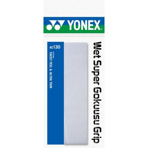 ヨネックス ウェットスーパー極薄グリップ 1 本 ホワイト 1パック 1本 YY AC130 011