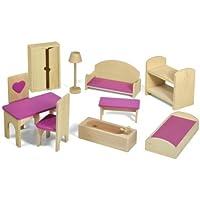 Fortune East Furniture Set (10-Piece) [並行輸入品]