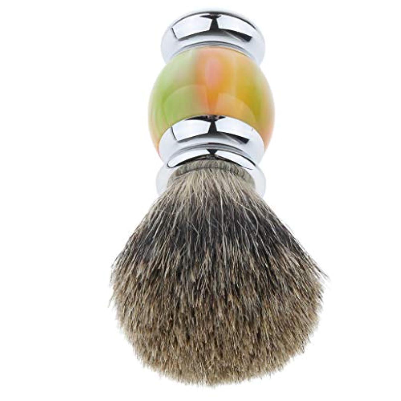 正確に鮮やかなフォーラムシェービングブラシ ひげブラシ ひげ剃り 理容 洗顔 髭剃り ひげ剃りブラシ 多色選べ - 01
