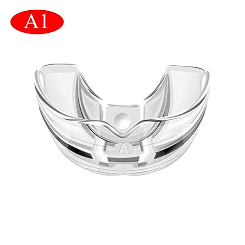 噴水リビングルーム汗歯列矯正器具、歯の状態に応じた3段階/透明で柔らかい、そして硬い歯科用マウスガード歯列矯正器具(透明)