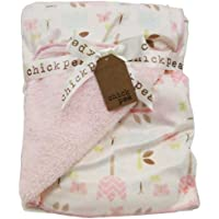 chickpea ベビー ブランケット おくるみ 毛布 ひざ掛け 約76×100cm
