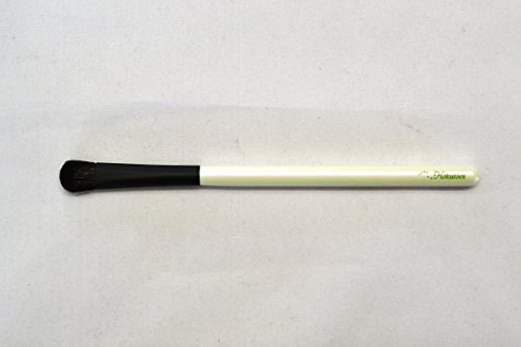過言雪ドラフト熊野筆 北斗園 Kシリーズ アイシャドウライナーブラシ(白黒)