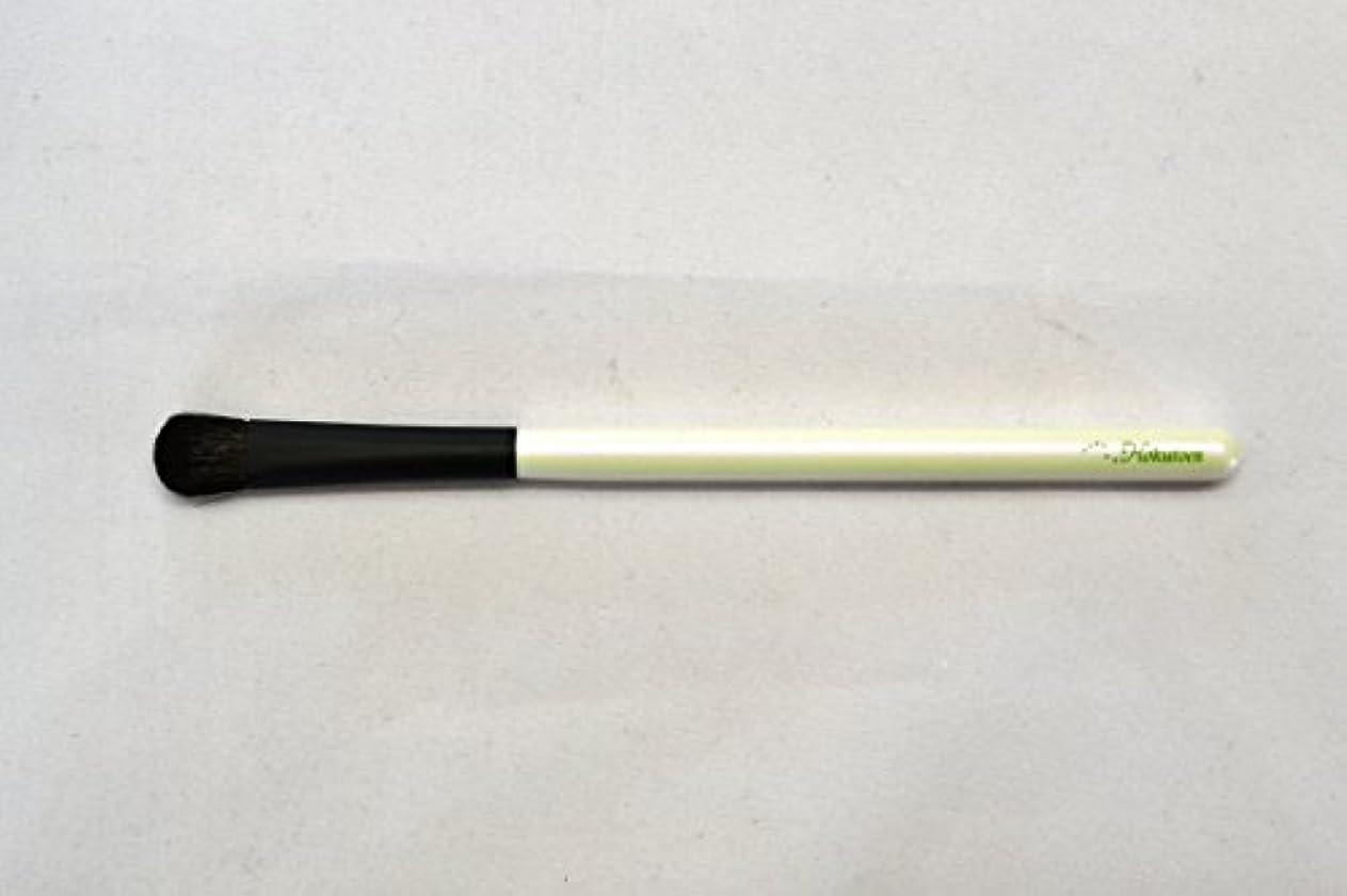 口頭不従順小間熊野筆 北斗園 Kシリーズ アイシャドウライナーブラシ(白黒)