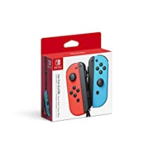 Nintendo 45496590130 Joy-Con (L/R) - Neon Red/Neon Blue