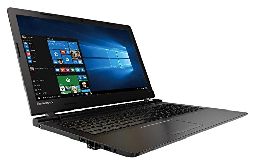 Lenovo ノートパソコン IdeaPad 100 80QQ01GXJP / Windows 10 Home 64bit / 15.6インチ / Celeron 3215U / エボニーブラック -