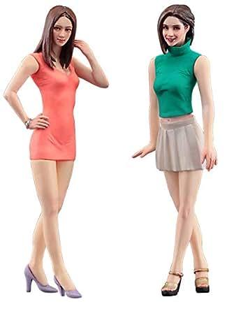 ハセガワ 1/24 フィギュアコレクションシリーズ ファッションモデル ガールズフィギュア プラモデル FC04