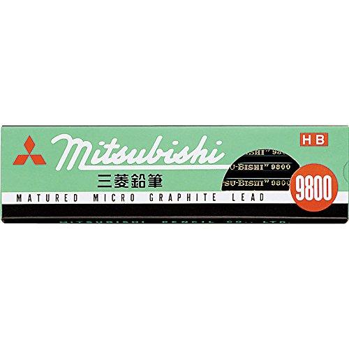三菱鉛筆 鉛筆 9800 HB 1ダース K9800HB