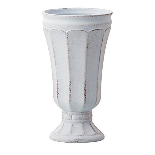 [해외]Clay 제 화분 Gris et blanc (그린 건 블랑) 프렌치 앤틱의 세련된 꽃병/Clay flower vase Gris et blanc (Gri E Bran) French antique stylish vase