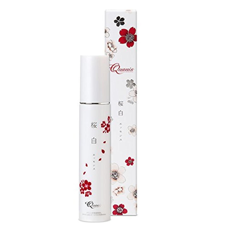 関与するサンダー蒸留Quanis (クオニス) 桜白エッセンス [美白 美容液] スキンケア 薬用 保湿ジェル (プラセンタ ヒアルロン酸) 50g