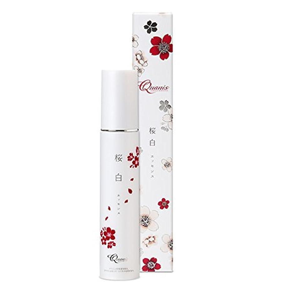 インストラクター気づかない消毒するQuanis (クオニス) 桜白エッセンス [美白 美容液] スキンケア 薬用 保湿ジェル (プラセンタ ヒアルロン酸) 50g