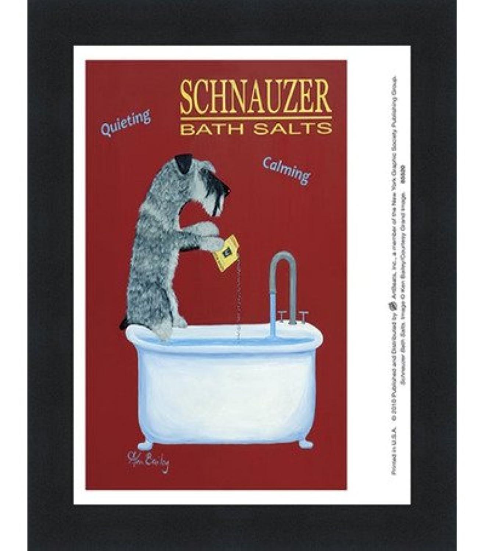 Schnauzer Bath Salts by Ken Bailey – 7 x 8インチ – アートプリントポスター LE_854520-F101-7x8