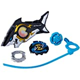 BEYBLADE BURST TURBO - SLINGSHOCK Riptide Blast Battle Set - Inc Forneus F4 Battle Top & Launcher - Kids Toys - Ages 8+