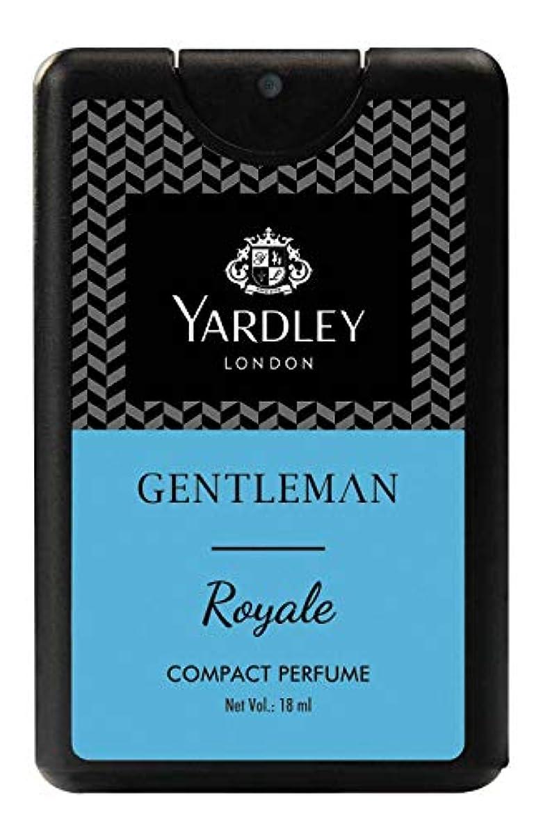 退屈な四回構成員Yardley Gentleman Royale Compact Perfume 18 ml