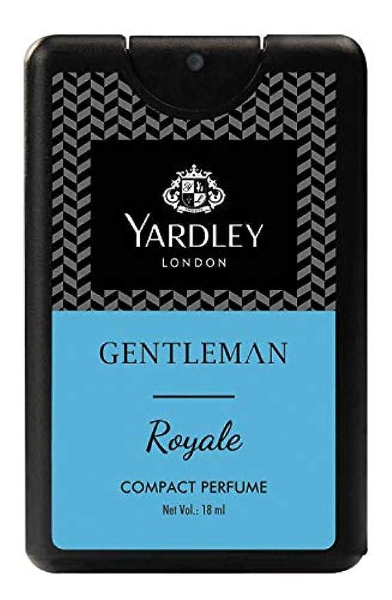 踏みつけどうやら記述するYardley Gentleman Royale Compact Perfume 18 ml