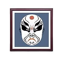 XUEPING 現代美術キャンバスプリント,キャンバス印刷,リビングルームの研究ベッドルームのレストランのバーレストランカフェの壁の装飾北京オペラ12米紙のペンダント (色 : G g, サイズ さいず : W60cm×H60cm)