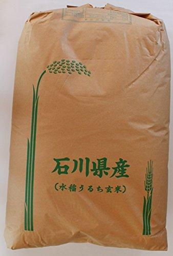 たけもと農場 令和1年度 石川県産 ミルキークイーン 玄米 30kg