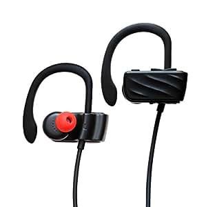X-LIVE Bluetooth イヤホン ワイヤレスイヤホン マイク内蔵 ハンズフリー 通話 ブルートゥース スポーツヘッドホン ヘッドセット CVC6.0 ノイズキャンセリング 技適認証済