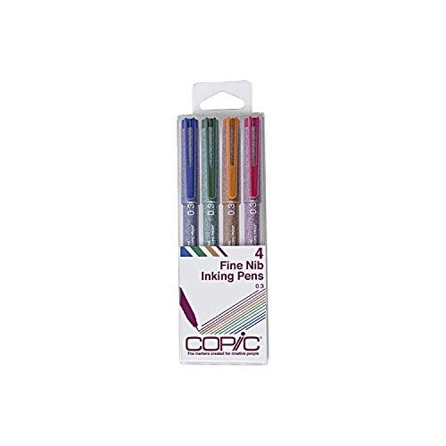 RoomClip商品情報 - Too コピック マルチライナー 4本組 カラーセット
