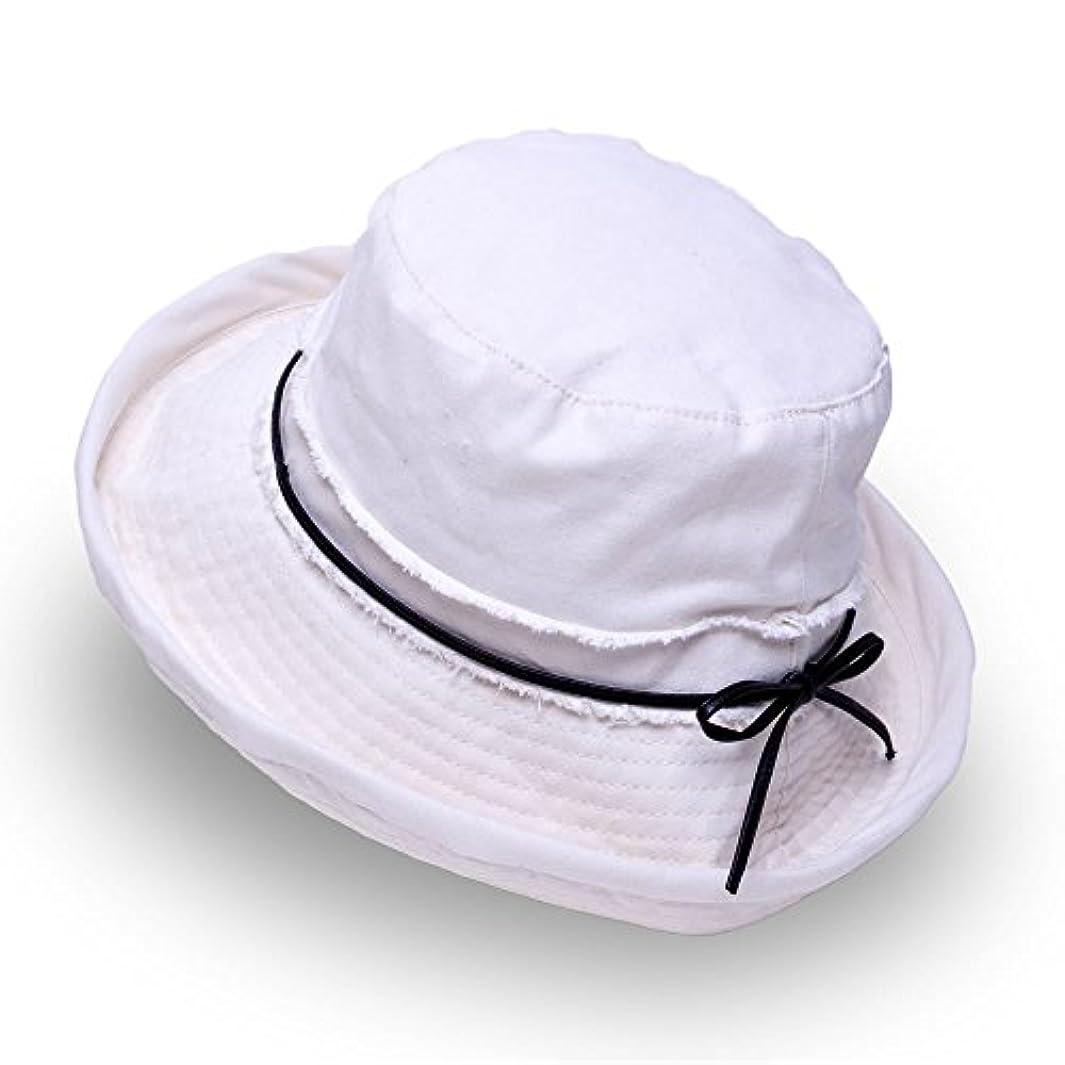 賃金聖人クリーナーAness (アネス) デニム ハット UVハット 2wayアレンジ リボン付き UVカット帽子 ブリムハット サイズ調整可能 UV対策 紫外線対策 フリーサイズ UV遮蔽率97% (3カラー)