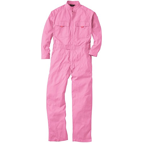 つなぎ 9000 オーバーオール 続き服 長袖 16カラー (M, ピンク)