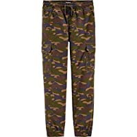 OshKosh B'Gosh Boys Camo Pull-On Cargo Canvas Joggers Pants Size 4T