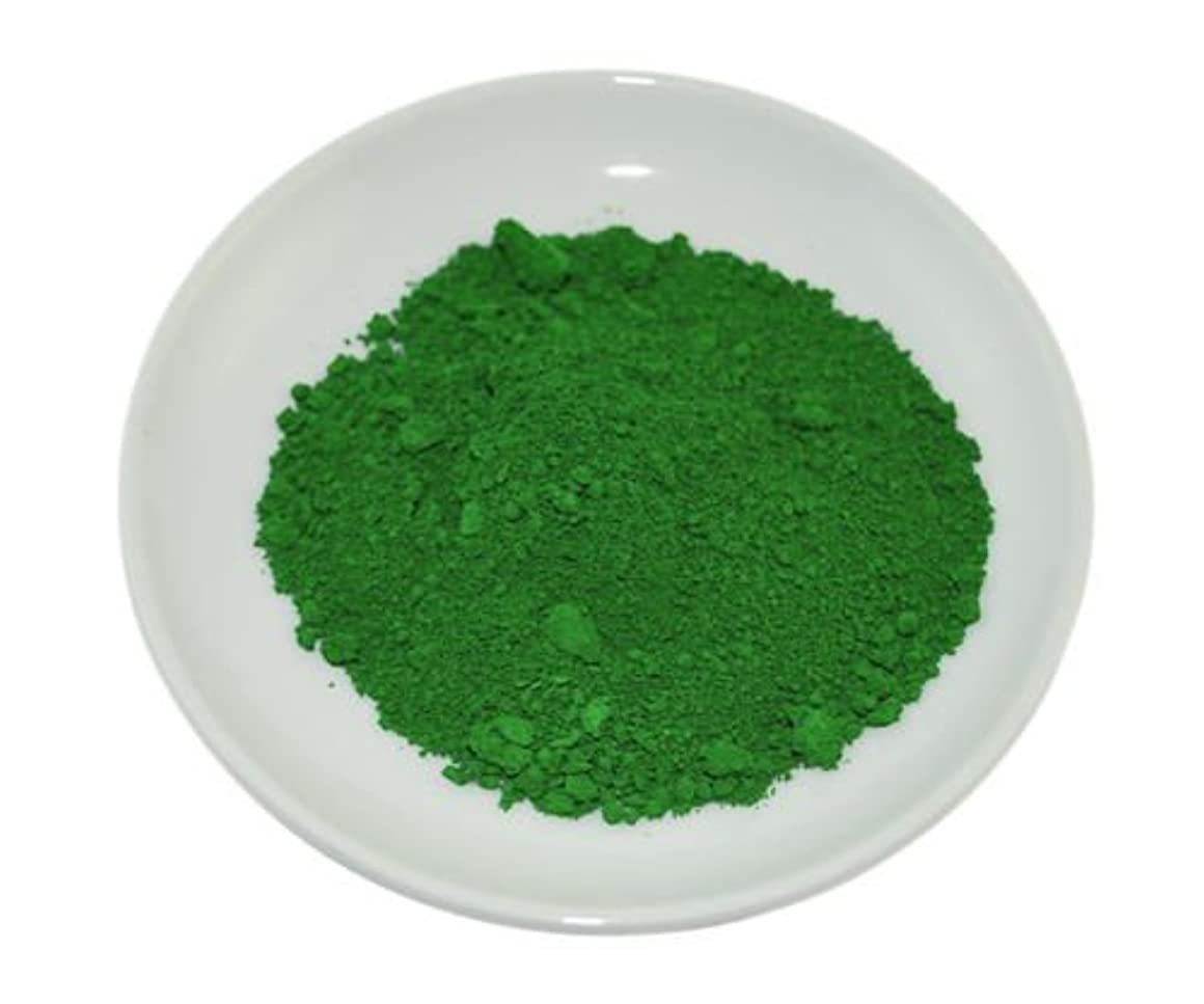 爆発宣言約設定Green Chrome Oxide Mineral Powder 100g