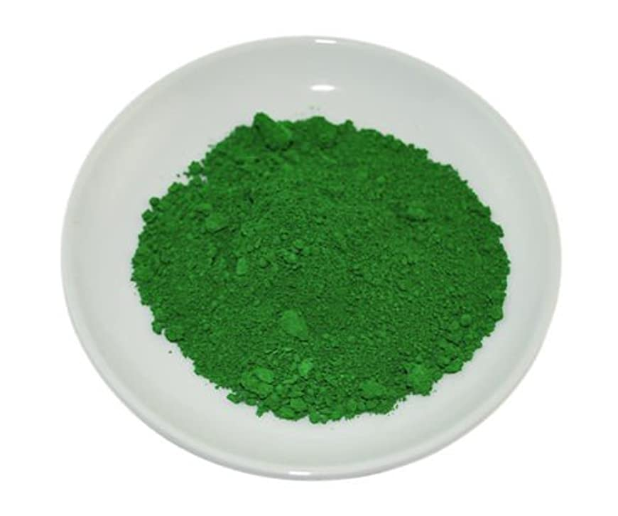 遅らせる軽減謝罪するGreen Chrome Oxide Mineral Powder 100g