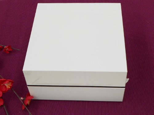 正和 『重箱』 間仕切り付き オードブル重二段 ホワイト...